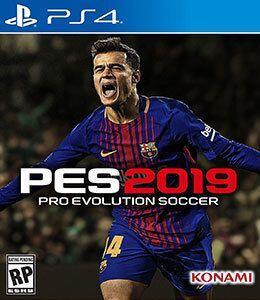 PES 2019 Pro Evolution Soccer para PS4-Konami