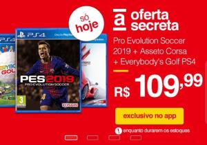 Pro Evolution Soccer 2019 + Asseto Corsa + Everybody's Golf [PS4]
