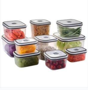 Conjunto de Potes Herméticos 10 Peças - Electrolux | R$58