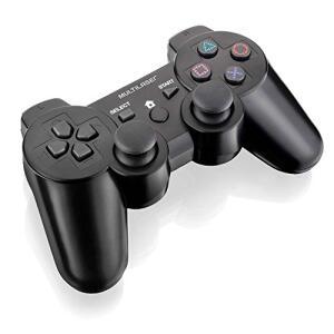 Controle Sem Fio PlayStation 2, PlayStation 3 e PC - Preto   R$99
