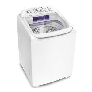 Lavadora Turbo Electrolux Branca com Capacidade Premium e Cesto Inox (LPR17) - R$1238