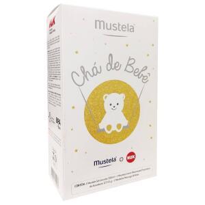 Kit Mustela Chá de Bebê com Gel Lavante 200ml + Creme Preventivo 123 55g + Mordedor - R$44