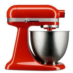 Batedeira Stand Mixer KitchenAid Artisan Mini Hot Sauce - KEA25AH | R$1.079