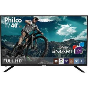 "Smart TV LED 40"" Philco Ph40U21DSGW Full HD com Conversor Digital 3 HDMI 1 USB Wi-Fi por R$ 1360"