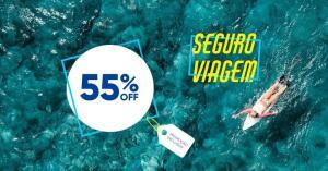 55% OFF  no Seguro Viagem Allianz