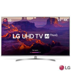 "Smart TV LG 55"" Led Ultra HD 4K 55UK7500 | R$2.699"