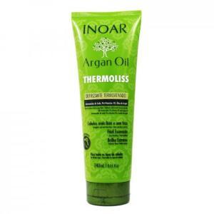 Defrizante Termoativo Thermoliss Argan Oil 240ml - Inoar | R$18