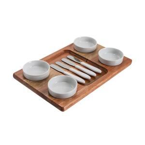 Jogo de Porta-Pasta Aperitivo 9 Peças - C de Casa | R$60