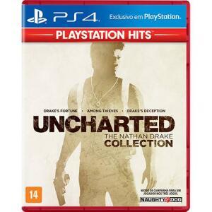 Game Uncharted The Nathan Drake Collection Hits - PS4 (Loja Saraiva)