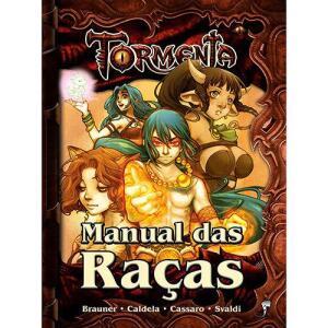 Livro - Manual das Raças - Tormenta | R$26