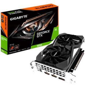 Placa de Vídeo Gigabyte Nvidia GeForce GTX 1650 OC 4GB, GDDR5 - GV-N1650OC-4GD | R$699