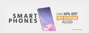 Smartphones Samsung Cupom de 20% [+5% AME]