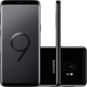 "Smartphone Samsung Galaxy S9 Dual Chip Android 8.0 Tela 5.8"" Octa-Core 2.8GHz 128GB 4G Câmera 12MP - Preto por R$ 1900"