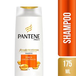 Shampoo Pantene Força e Reconstrução 175ml 44% OFF De: 13,79 POR: 7,69
