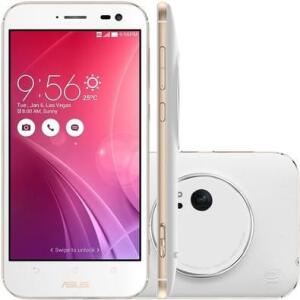 Smartphone Asus Zenfone Zoom, 128GB, 13MP, Tela 5.5´, Branco R$1000