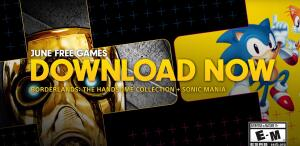 [Psn PLUS JUNHO] Sonic Mania e Borderlands: The Handsome Collection