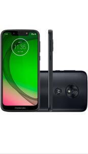 "(APP + CARTAO AMERICANAS ) Motorola Moto G7 Play 32GB Dual Chip Tela 5.7"" Câmera 13MP - Indigo | R$749"