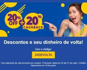 Brasília e Recife | 20% OFF+ 20% CASHBACK