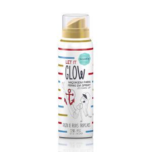 Maquiagem para Pernas Spray Let It Glow 125ml R$13