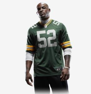 Camisa Futebol Americano Nike Green Bay Packers - M e GG | R$150