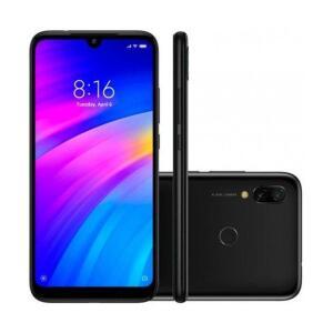 Smartphone Xiaomi Redmi Note 7 6.3 Polegadas 3GB/32GB Dual Sim Versão Global - Preto - R$1044