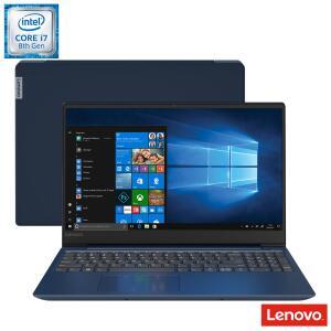 Notebook Lenovo Intel® Core™ i7-8550U, 8GB, 1TB, Tela de 15,6'', AMD Radeon™ 535, Azul, Ideapad 330S - 81JN0002BR - R$3028