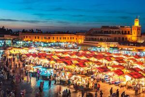 Voos para Marrakech, saindo de São Paulo. Ida e volta, com taxas incluídas, a partir de R$2.171