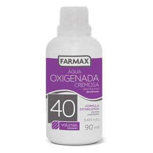 Água Oxigenada Farmax 40 Volumes 90ml por R$ 1