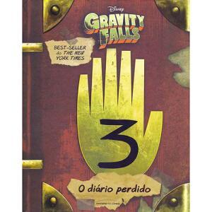 Livro - O Diário Perdido de Gravity Falls | R$30
