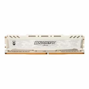 Memoria Crucial Ballistix Sport 8GB (1x8) DDR4 3000Mhz Branca, BLS8G4D30AESCK