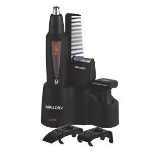 Máquina de Cortar Cabelo sem Fio Mallory Wet&Dry Delling