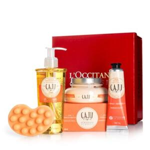 Kit Presente L'Occitane au Brésil Firmador Caju | R$238