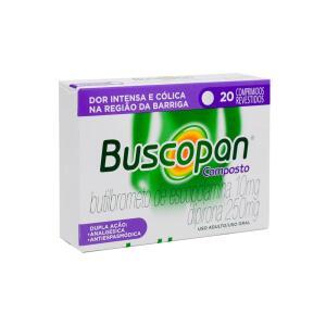 BUSCOPAN COMPOSTO 10/250MG COM 20 COMPRIMIDOS por R$ 11