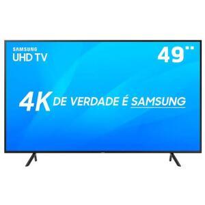 "Smart TV LED 49"" UHD 4K Samsung 49NU7100 com HDR Premium, Wi-Fi HDR - Conversor Digital 3 HDMI 2 USB R$1879"