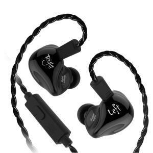 (envio internacional) Fone de ouvido KZ ZS4 estéreo c/ Microfone