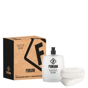 Conjunto Classic Jeans Forum Unissex - Deo Colônia 100ml + Sabonetes 2x90g R$89