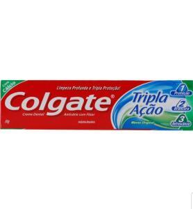 [App Americanas] 12 Unidades Creme Dental Colgate 50g - R$2