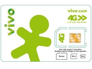 Chip / Microchip / Nanochip Vivo 4G Pré-Pago - DDD 83 PB por R$ 3