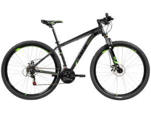 Bicicleta Caloi 29 A18 21 Marchas - Suspensão Dianteira Câmbio Shimano - R$1099