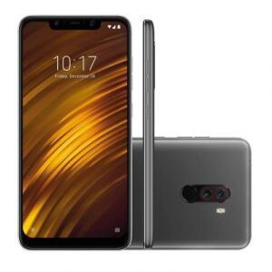 Smartphone Xiaomi Pocophone F1 Preto - 1 Ano de garantia Xiaomi