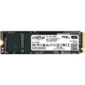 SSD Crucial P1, 500GB, M.2 NVMe
