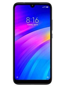 Celular Xiaomi Redmi 7, 32 Gb, 3Gb Ram, 12 + 2 Mp Câmera Dupla + 8Mp Selfie Desbloqueio Facial E Digital, Preto
