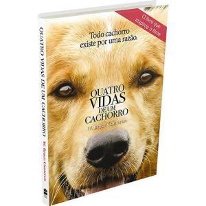 Livro - Quatro Vidas de um Cachorro (capa do filme)