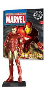 Marvel Figurines. Homem de Ferro   R$64