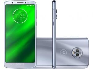 Smartphone Motorola Moto G6 Plus 64GB Topázio - Dual Chip 4G Câm. 12MP e 5MP  por R$ 1162