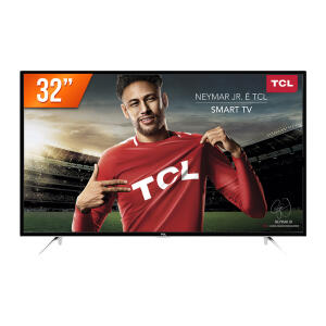 Smart TV LED 32'' HD Semp TCL L32S4900S 3 HDMI 2 USB Wi-Fi Integrado Conversor Digital | R$836