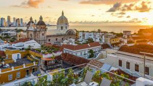 Voos para Cartagena, saindo de São Paulo. Ida e volta, com taxas incluídas, a partir de R$1.684