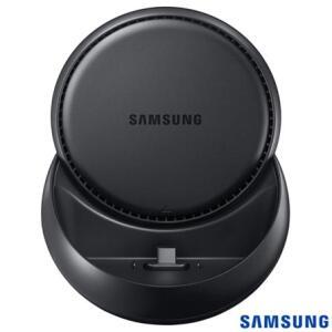 Base DeX Station Samsung para Conexão do Galaxy Note 8, S8, S8 Plus, Note 9, S9, S9 Plus, S10 e S10 Plus com PC Preto | R$193