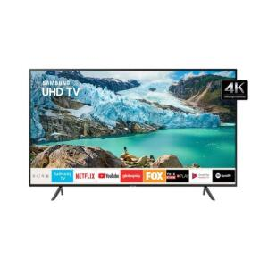 Smart TV LED 50'' Ultra HD 4K Samsung 50RU7100 3 HDMI 2 USB Wi-Fi iTunes | R$2.137