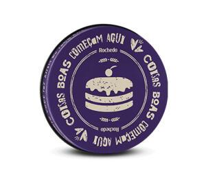 Forma Redonda Rochedo Purple - 31 cm | R$24